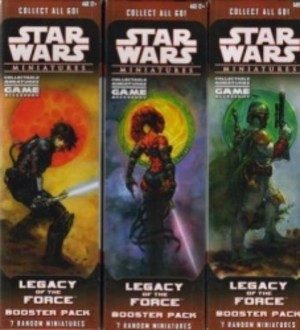 Star Wars Miniatures : Legacy of the Force : booster