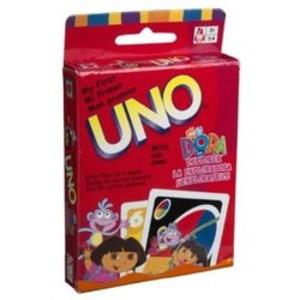 Mon premier Uno avec Dora l'Exploratrice