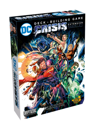 Crisis - DC Comics extension paquet N°1