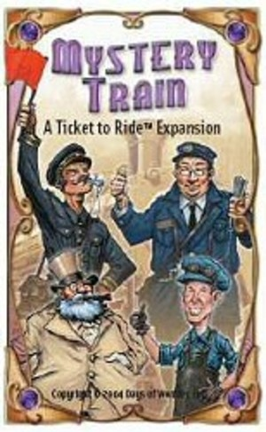 Les Aventuriers du Rail : Mystery Train