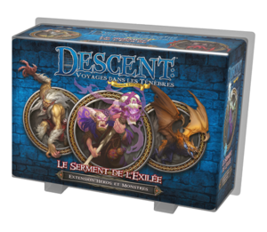 Descent Seconde Édition : Le Serment de l'Exilée