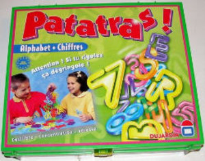 Patatras! - Alphabet + Chiffres