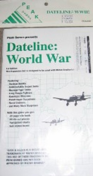 Axis & Allies : Dateline World War II (1st Ed.)