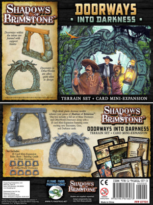 Shadow of brimstone - Doorways Into Darkness (Terrain and Card Expansion)