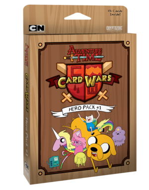Adventure Time Card Wars : Hero Pack #1