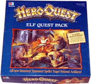 Heroquest : Elf quest pack