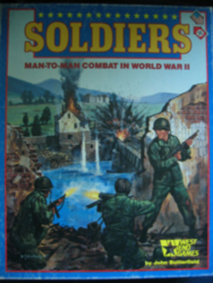 Soldiers Man-to-Man Combat in World War II
