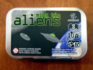 mint tin alien