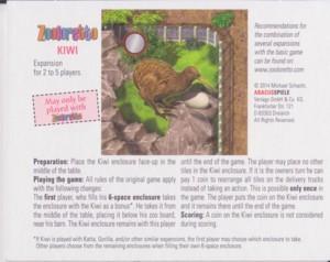 Zooloretto : kiwi