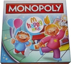 Monopoly - M happy meal