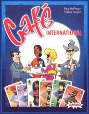 Café International - Le jeu de cartes