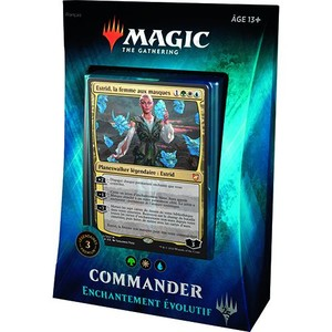 Magic the Gathering : Enchantement Évolutif - Deck Commander 2018