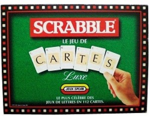 Scrabble - le jeu de cartes Luxe
