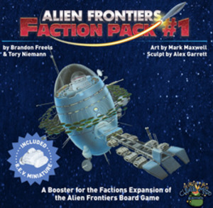 Alien Frontiers: Faction pack #1