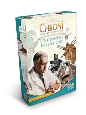 CHRONI - LES GRANDES INVENTIONS