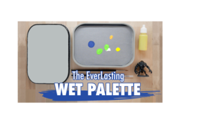 The first ever reusable wet palette for minis coming soon on Kickstarter