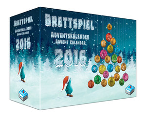 Goodies im Adventskalender 2016 und DSP-Box
