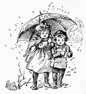 Perdus sous la pluie