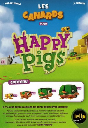Happy Pigs - Les canards (goodies)