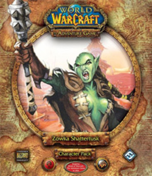 World of Warcraft : the Adventure Game Zowka Shattertusk Character Pack