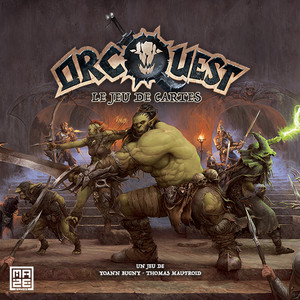 OrcQuest le jeu de cartes