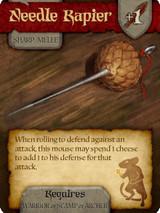 Mice and Mystics : Needle Rapier