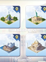 """Quadropolis - Extension """"Monuments du Monde"""""""