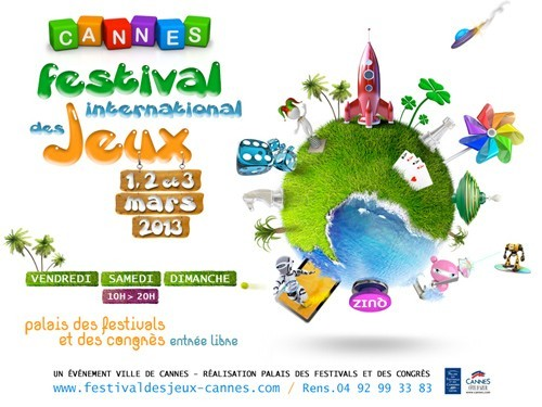 Le festival international des jeux de Cannes