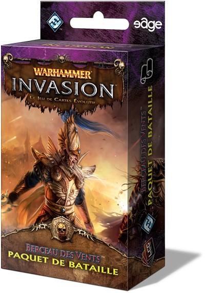 Warhammer - Invasion : Berceau des Vents est paru