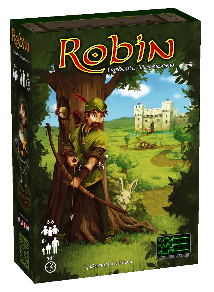 Robin - box cover