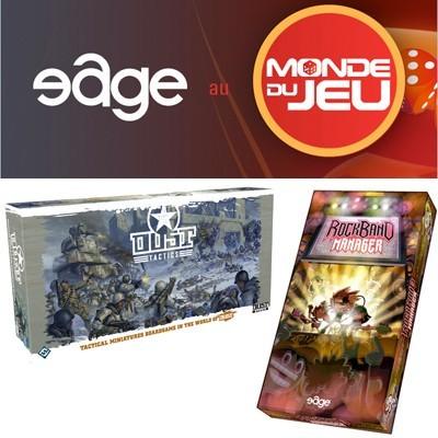 Edge en force au Monde du jeu !