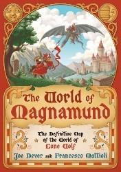 Loup Solitaire - Carte du Magnamund