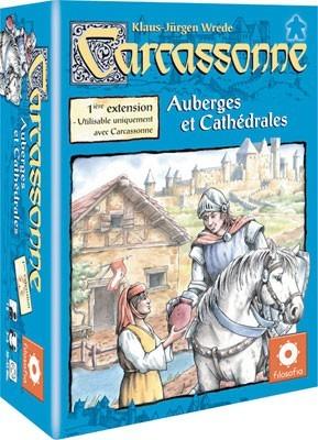 La première extension de Carcassonne sur les étals