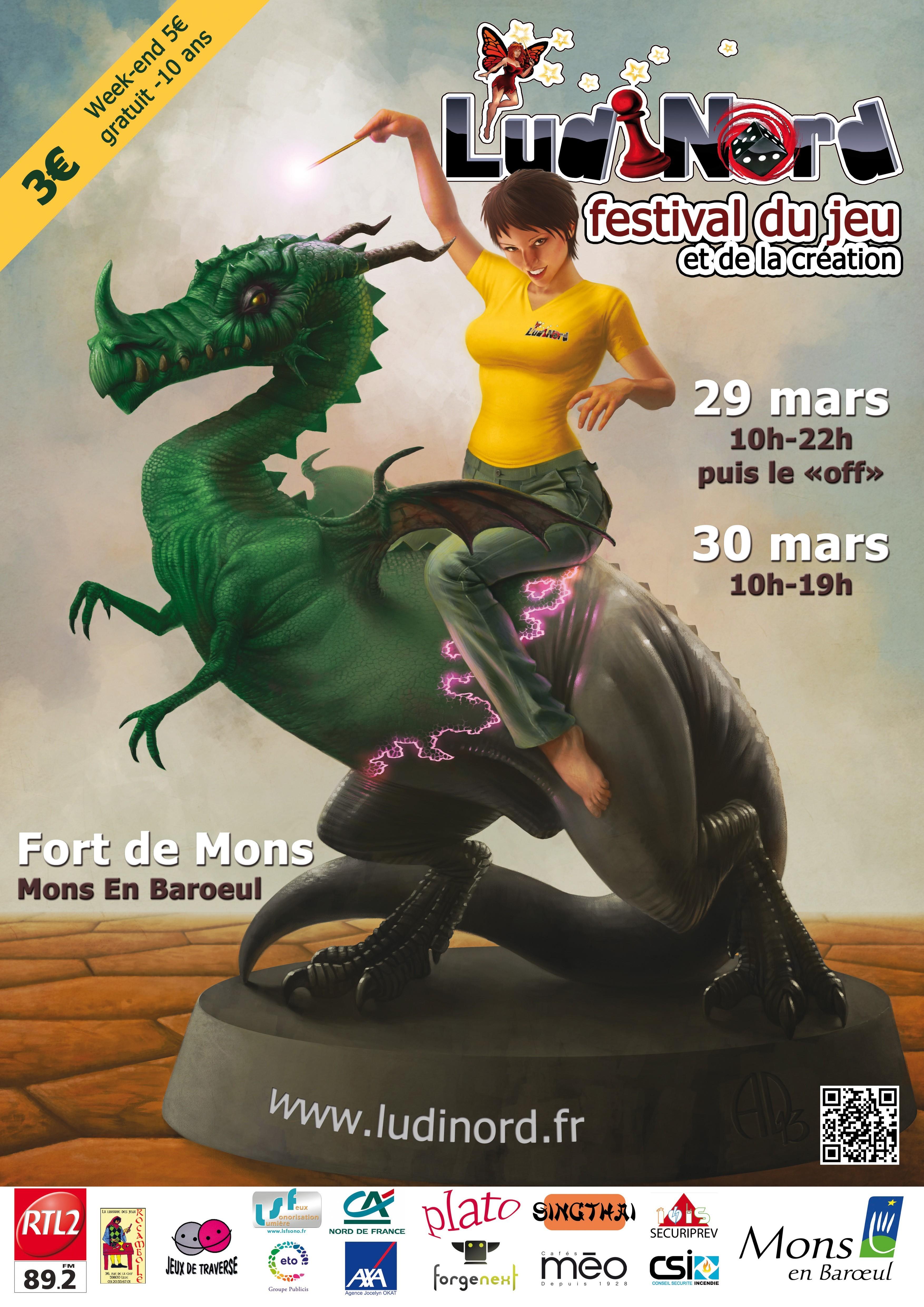 LudiNord, 6ème festival du Jeu et de la Création