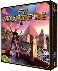 Enfin : première partie de 7 Wonders @decube