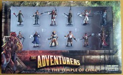 Les Figurines pour The Adventurers : Temple of Chac