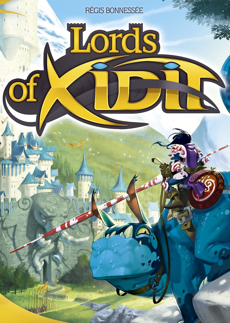 Lords of Xidit, Explorons la région