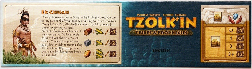 Tzolk'in: The Mayan Calendar – Tribes & Prophecies – Mini Expansion 1