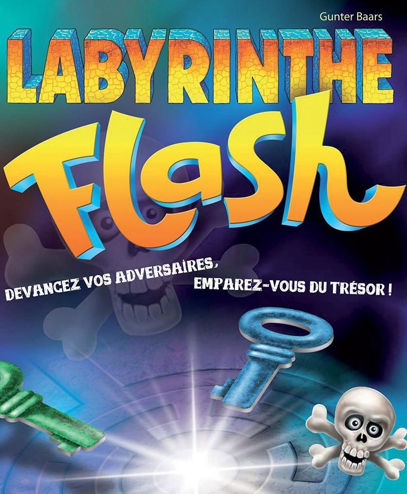 Labyrinthe Flash, chasseur de trésors du bout des yeux
