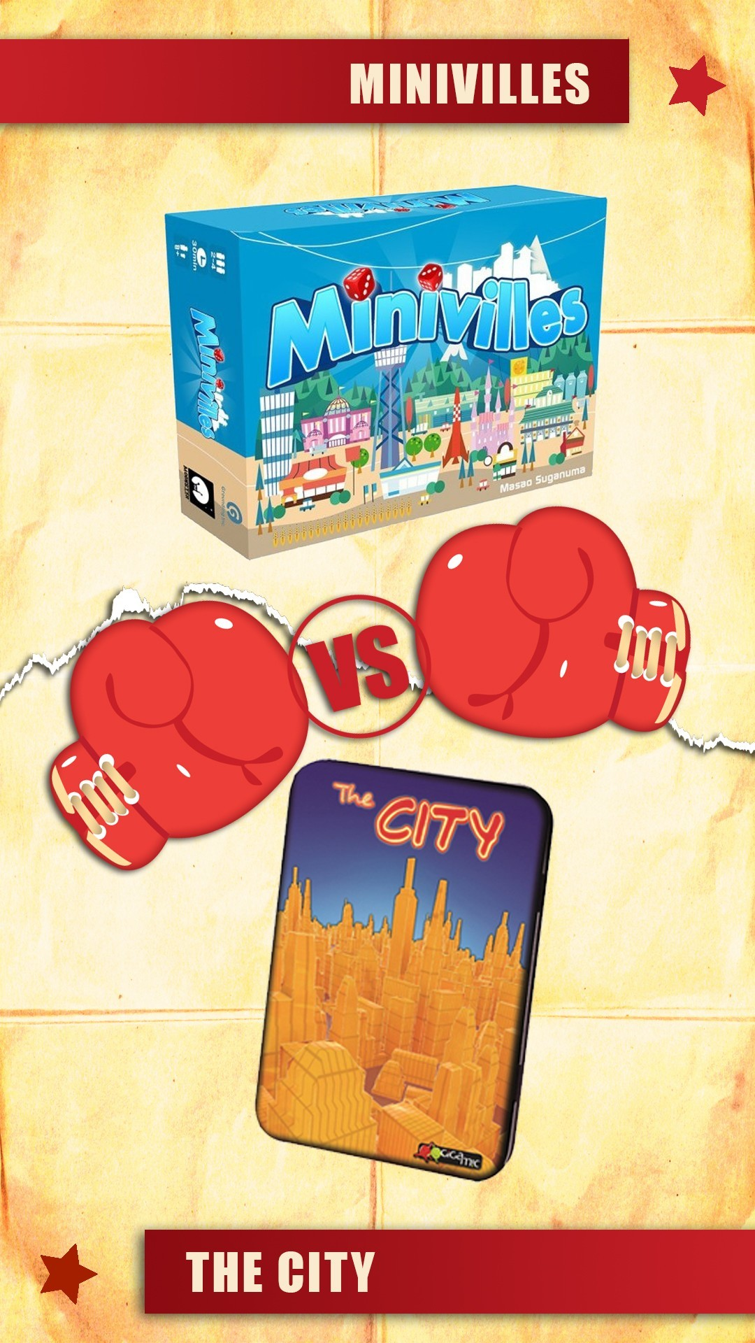 versus : minivilles vs the city