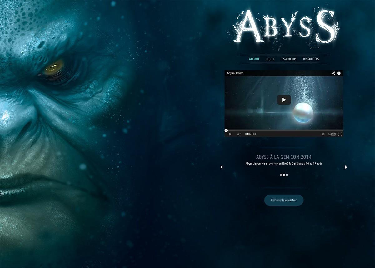 Abyss, le site et un concours !